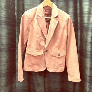 Leather Blazer Jacket by BB Dakota